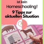 9 Tipps zum Homeschooling